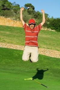Golfdare jugador