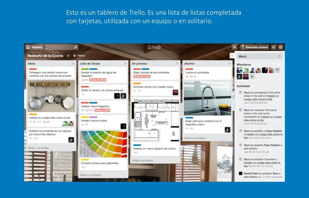 herramientas para organizar proyectos y equpios