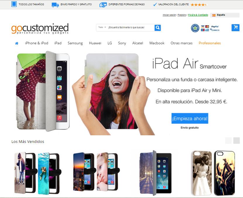 un negocio basado en la personalización